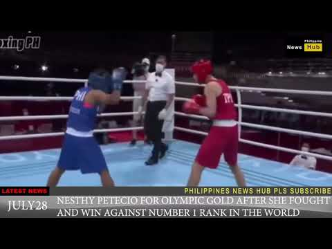 SPORTS NEWS JULY 28 NESTHY PETECIO FOR GOLD MEDAL IN 2020 TOKYO OLYMPIC