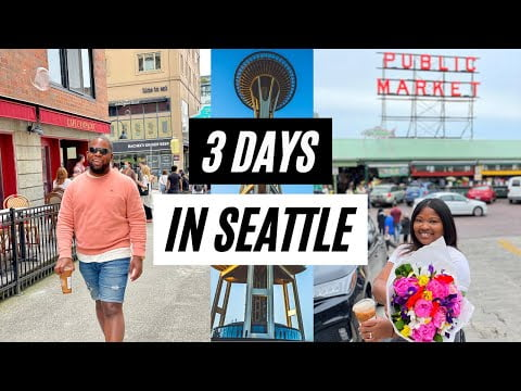 Best Vacation in Seattle! Travel Guide & Vacation Idea for Solo Travel or Couple Travel #Getaway2021