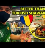 Is this the BEST shawarma in the world? – ROMANIA Street food tour🇹🇩
