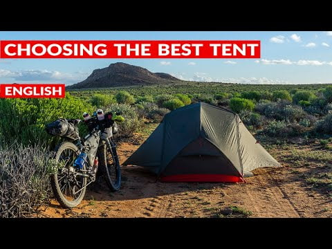 GUIDE: what's the best TENT for bike travelling (bikepacking or bicycle touring)?