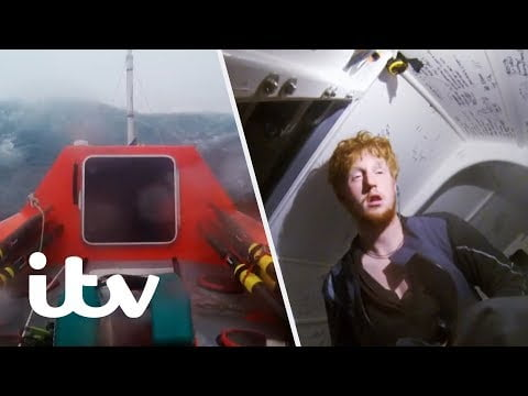 Surviving a 3 Day Storm in the Atlantic Ocean   Weather From Hell: Caught on Camera   ITV