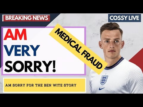AM SO SORRY.  Ben white Medical Confirmed By sky sports |Arsenal News Now