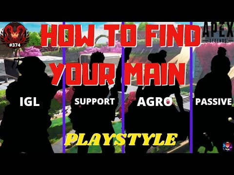 How To Find YOUR Perfect MAIN – Based Off Play-style and Role In SEASON 7 (apex legends)