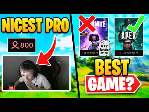 Is Apex Legends Killing Fortnite? | Is This the Nicest Pro?