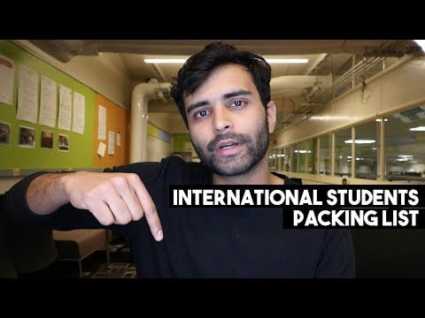 What to Pack when Travelling Abroad for Studies | International Student