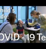 A child's guide to hospital: COVID-19 Test