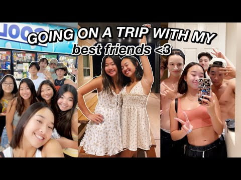 GOING ON A TRIP WITH MY BEST FRIENDS | Nicole Laeno