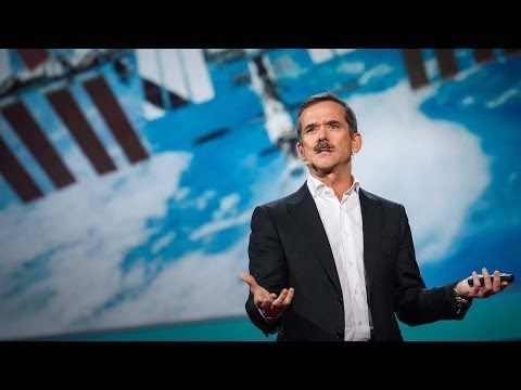 What I learned from going blind in space   Chris Hadfield