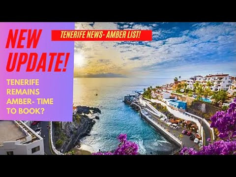 Tenerife Travel Update: GOOD NEWS for Brits & Canary Islands! ✈️
