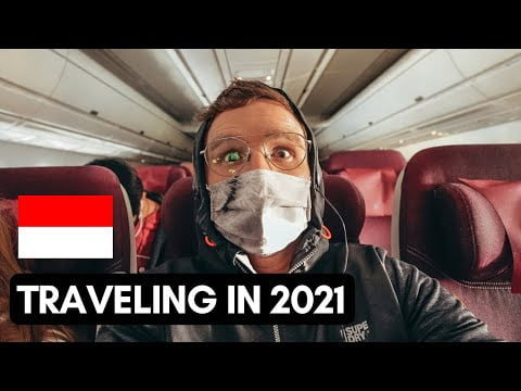 TRAVELLING in 2021 | FLYING to INDONESIA | VLOG #098