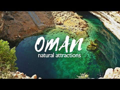 OMAN Travel Guide 🇴🇲   Top 10 natural tourist attractions, must visit when travel to oman