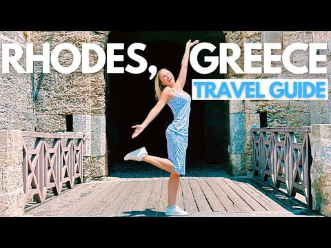 RHODES TRAVEL GUIDE I BEST THINGS To Do in Rhodes Old Town, Lindos, Beaches, Restaurants