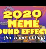 MEME SOUND EFFECTS FOR EDITING | 2020