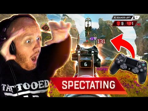 I SPECTATED THE BEST CONTROLLER PLAYER IN APEX
