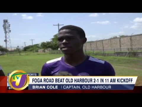 TVJ Sports News: Foga Road Beat Old Harbour 2-1 in 11am Kickoff – October 10 2019