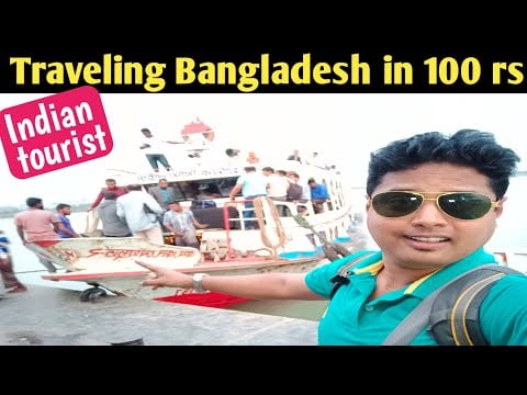 Bangladesh travelling around in 100 rupees | Travel video in HINDI 🔥🔥🔥