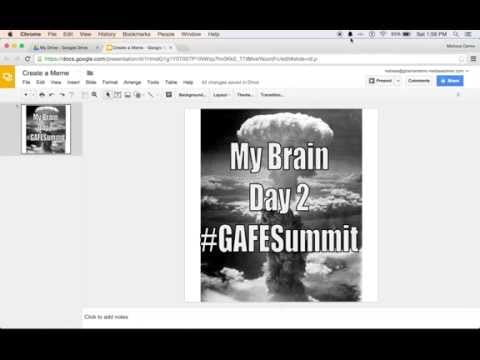 How to Create a Meme in Google Slides