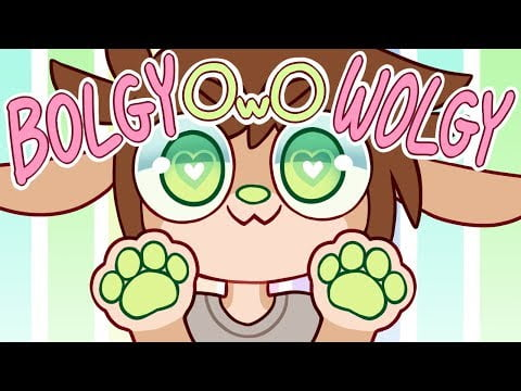 Bolgy Wolgy   OwO What's This? Notices Animation Meme (Flipaclip)