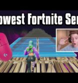 Reacting To The LOWEST Sensitivity Player In The World! – Fortnite Battle Royale