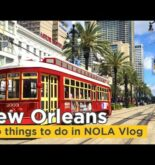New Orleans Travel Vlog with Mike & Miha – Top things to do in NOLA