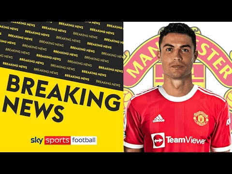 BREAKING! Manchester United reach agreement to re-sign Cristiano Ronaldo