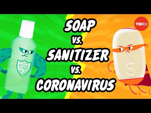 Which is better: Soap or hand sanitizer? – Alex Rosenthal and Pall Thordarson