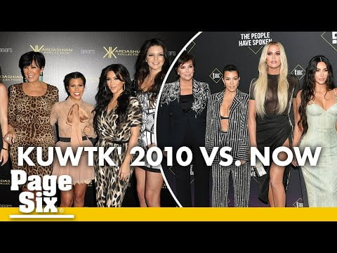 Keeping up with the Kardashians: 2010 to Now   Page Six Celebrity News
