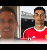 Gary Neville reacts to Cristiano Ronaldo re-signing for Manchester United