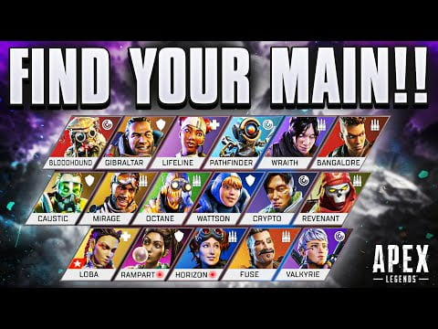 How To FIND Your PERFECT MAIN | Apex Legends