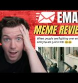 Cold Email King Reacts to Email Memes | Meme Review