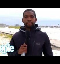 MSNBC Reporter Accosted During Live Hurricane Ida Coverage | PEOPLE