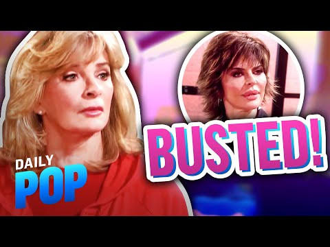 """How Lisa Rinna Got Deidre Hall BUSTED on """"Days of Our Lives"""" Set   Daily Pop   E! News"""