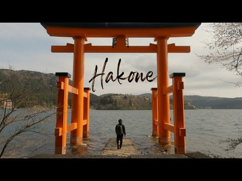 Travelling to Hakone, Japan   A great place for a peaceful walk near Tokyo
