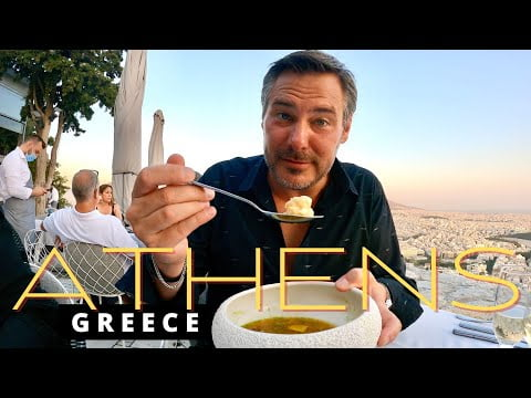 What to Eat in Athens Greece!!