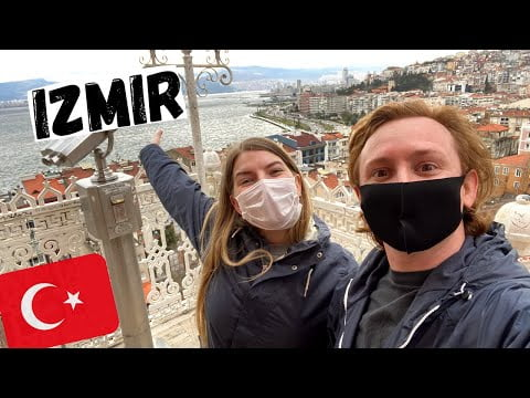 Exploring IZMIR, TURKEY   What to see and do?   Travelling to Denizli (Pamukkale) by bus 🇹🇷