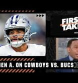 The Cowboys have to get it done vs. the Bucs – Stephen A.   First Take