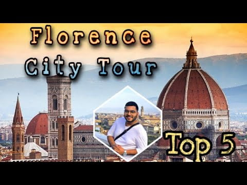 Top 5 things to do in FLORENCE    City Tour with 𝗧𝗥𝗔𝗩𝗘𝗟𝗟𝗜𝗡𝗚 𝗢𝗙𝗙 𝗧𝗥𝗔𝗖𝗞