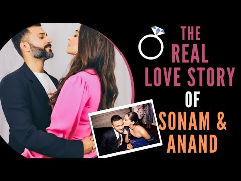 The REAL Love Story of SONAM KAPOOR & ANAND AHUJA 💞  True Celebrity Love Stories   Bollywood