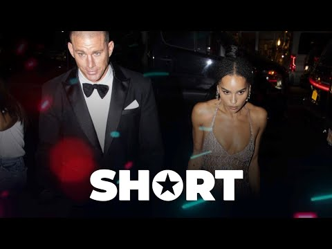 Channing Tatum and Zoe Kravitz seen getting close on red carpet ⭐ Celebrity News ⭐