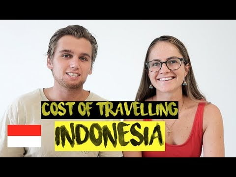 TRAVELLING INDONESIA FOR 40 DAYS | COMPLETE COST BREAKDOWN