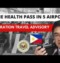 PHILIPPINE IMMIGRATION TRAVEL GUIDELINES & RESTRICTIONS UNTIL SEP 18| ONE HEALTH PASS in 5 Airports