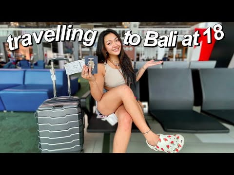 TRAVELLING TO BALI (took 17 hours) | vlog #1