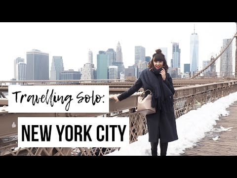 NEW YORK CITY VLOG   A Girls Guide To Travelling Solo In New York   Frock Me I'm Famous