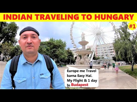 INDIAN Boy Travelling to BUDAPEST Hungary | Indian Traveller | indian Travel vlog | Budapest vlog