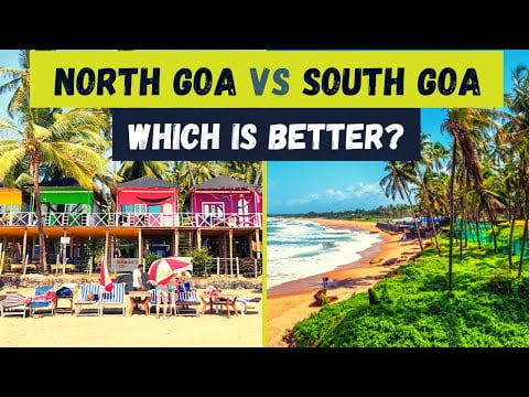 North Goa vs South Goa  Which is better?   Complete guide to help you choose  Honeymoon, Solo Travel