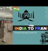 Indians travelling during Corona time || MUMBAI to PARIS || INDIA to FRANCE via Air France