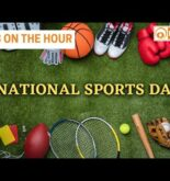 National Sports Day today & more updates | News on the Hour