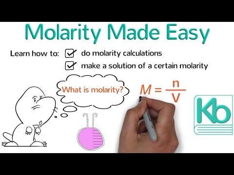 Molarity Made Easy: How to Calculate Molarity and Make Solutions