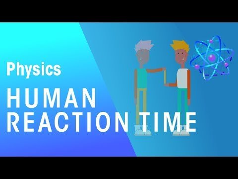 Human Reaction Time   Forces & Motion   Physics   FuseSchool